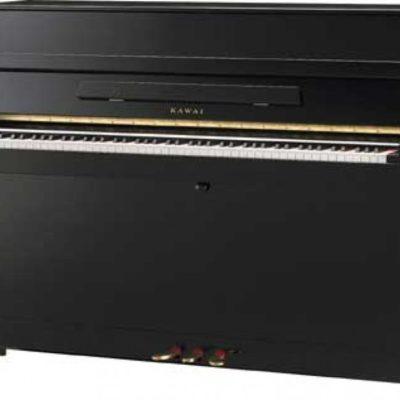 Kawai K-15E Upright Piano in White Finish