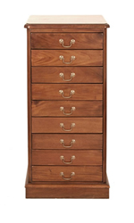 Music Storage Cabinet (9-Drawer)