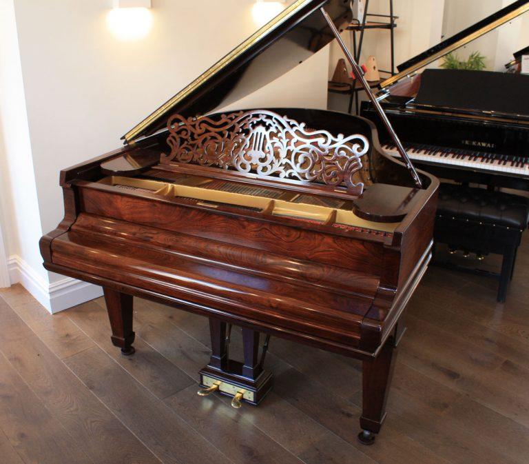 Restored Steinway Model O Grand Piano