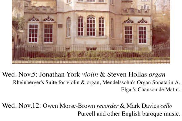 Steven Hollas Concert Series