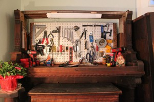 The Piano Tool Organiser