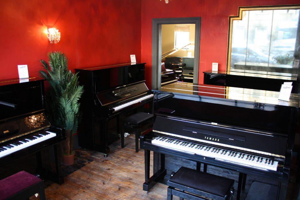 The Yamaha Piano Room at The Piano Sho pBath