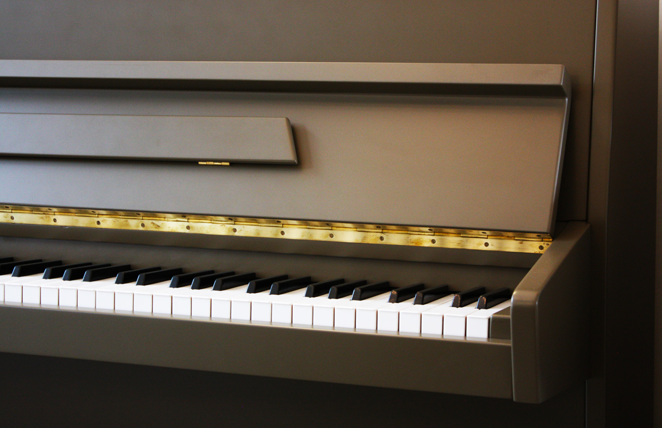 Fuchs&Mohr painted upright piano