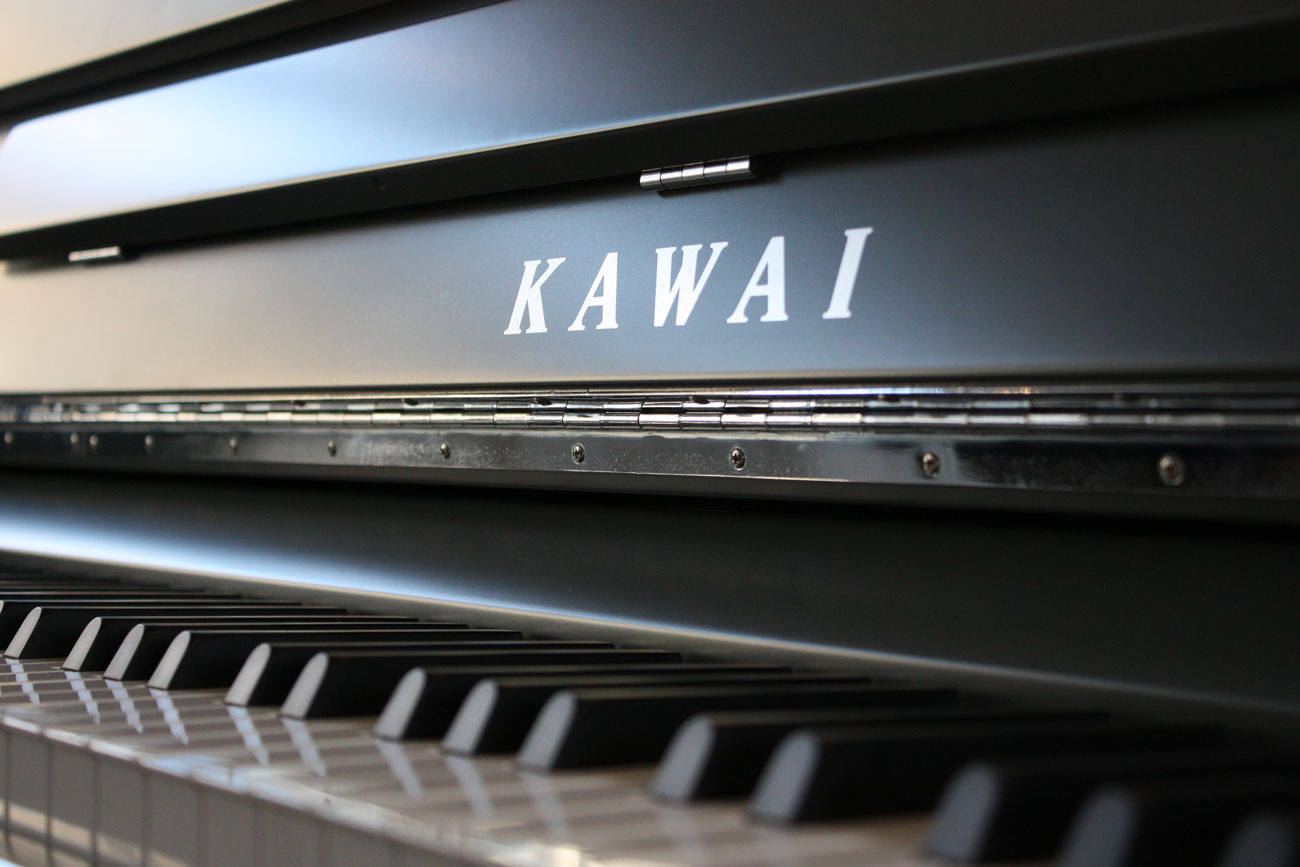 K200 painted upright piano