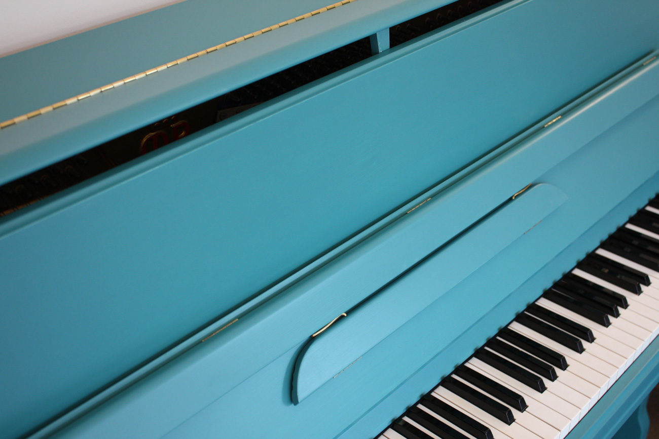 Marshall&Rose Painted Upright Piano