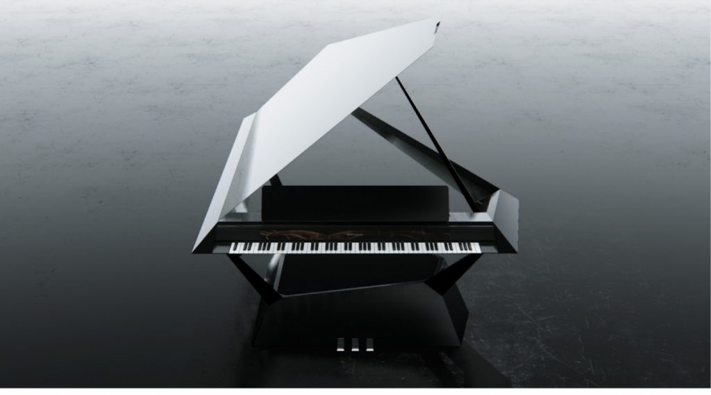 Winner of the Grand Prize, Jong Chan Kim's 'Facet Grand Piano'