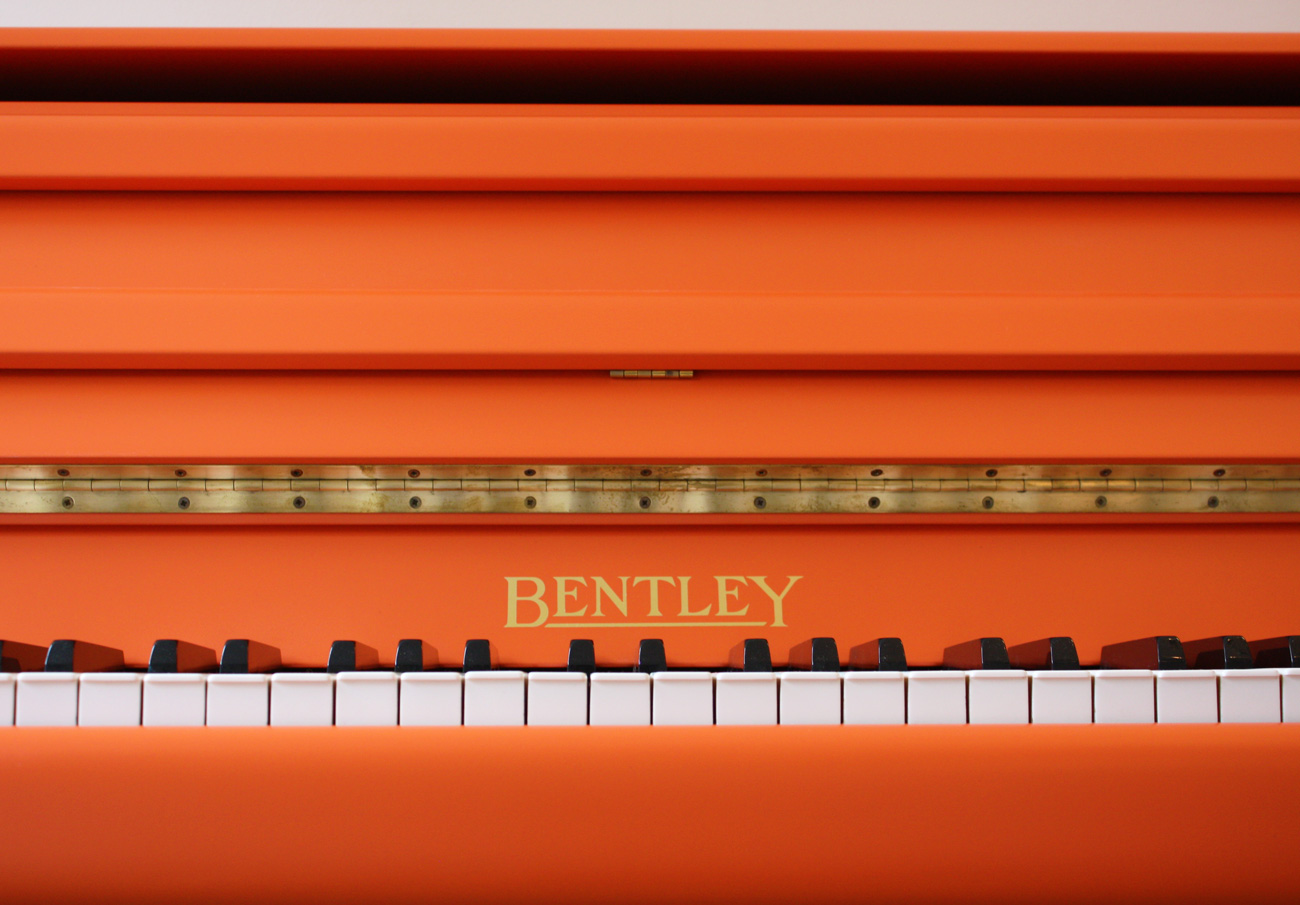 Bentley Painted Upright Piano