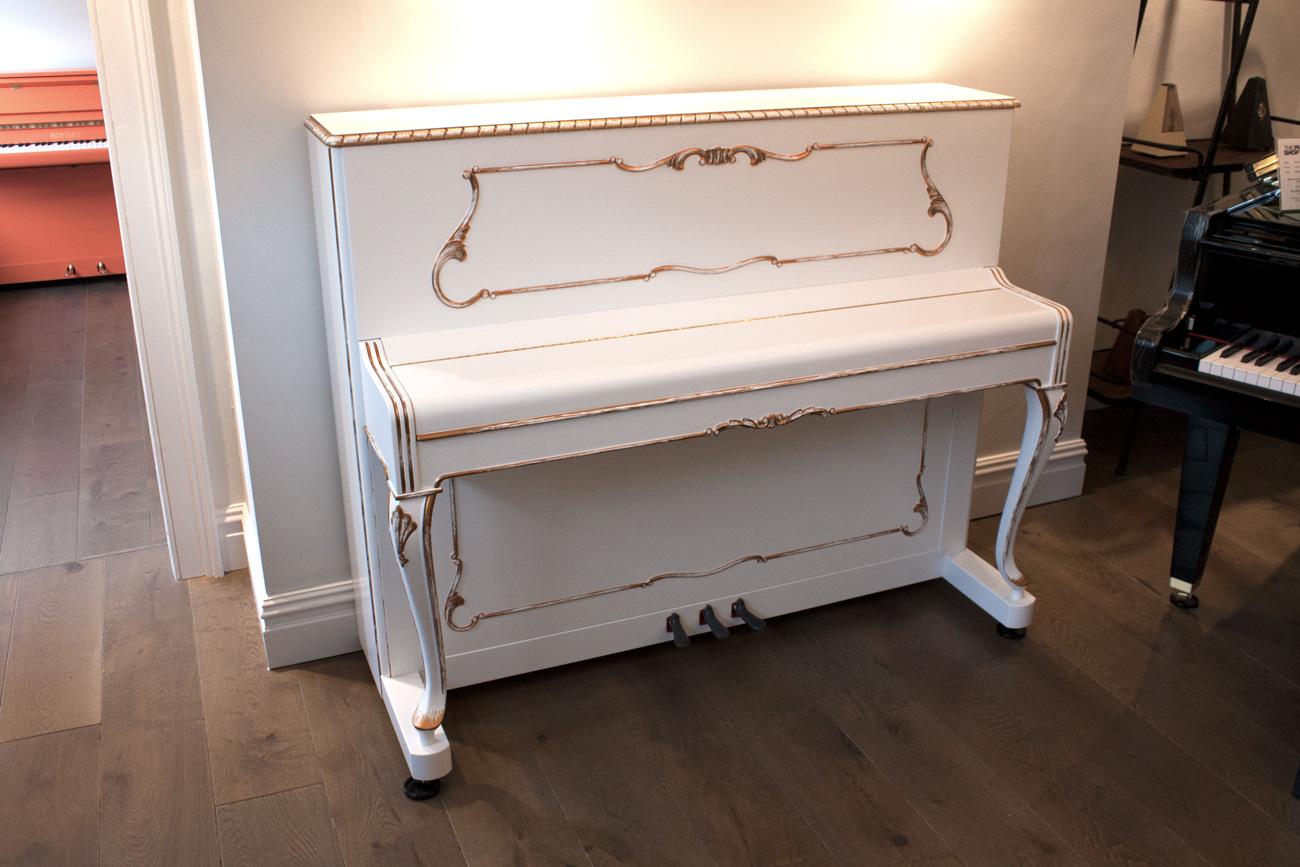 Petrof P118 R1 Rococo upright Piano