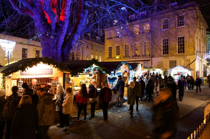 The Bath Christmas Market/©nicksmithphotography.com