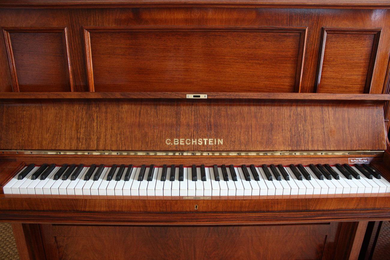 restored bechstein upright piano. Black Bedroom Furniture Sets. Home Design Ideas