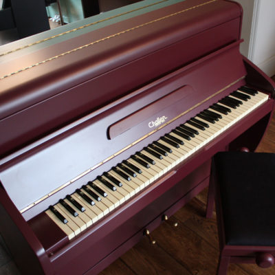 Challen 'Brinjal' Painted Piano