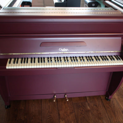 Challen 'Brinjal' Painted Piano