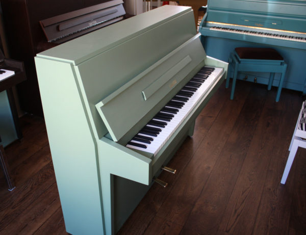 Sauter painted upright piano