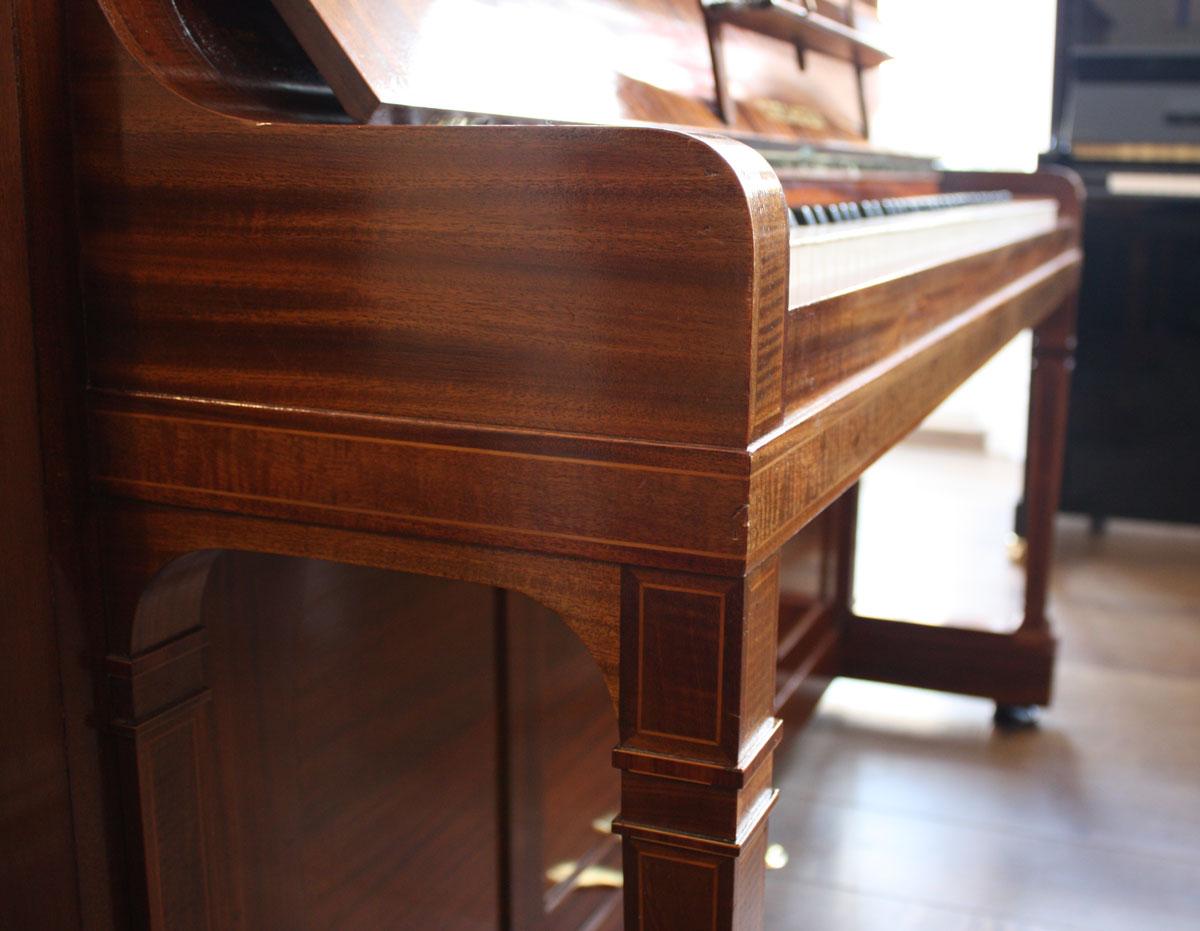 bechstein model 8 upright piano. Black Bedroom Furniture Sets. Home Design Ideas