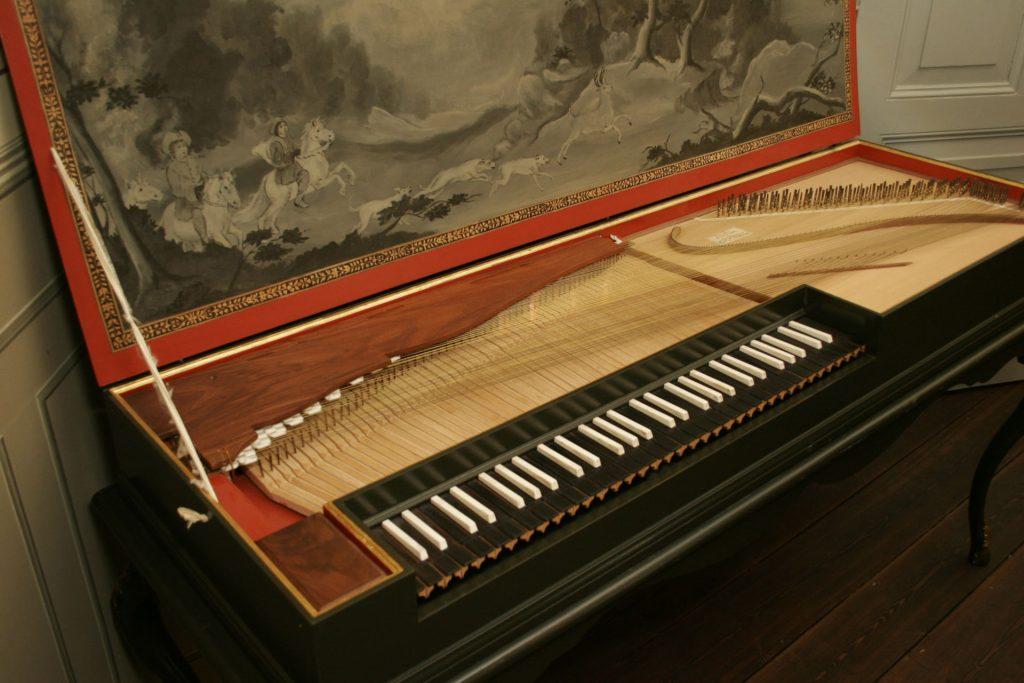 A beautiful restored Clavichord